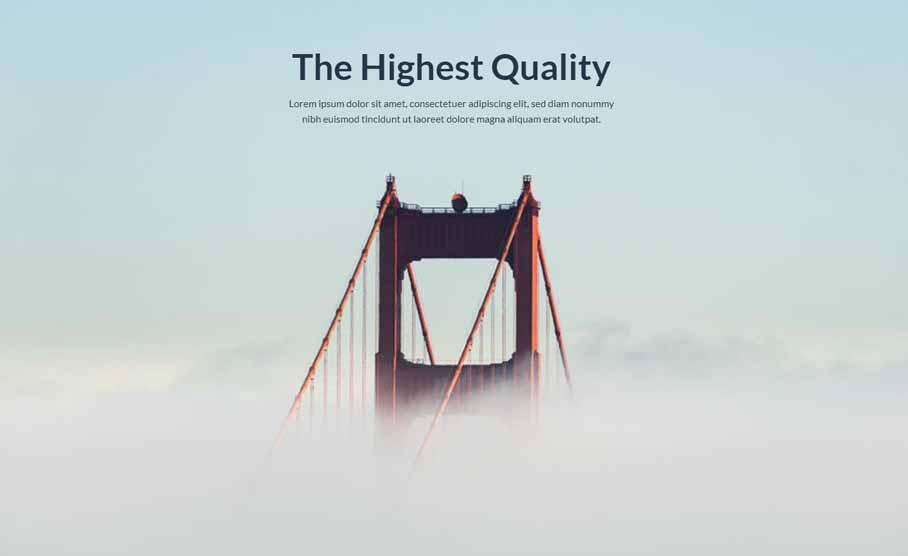 Highest quality design